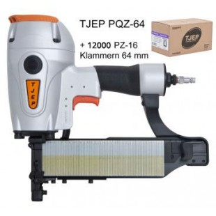 TJEP PQZ-64 Klammergerät mit 12000 Klammern 64 mm