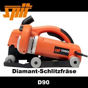Diamant Schlitzfräse Schlitzsäge Spit D90