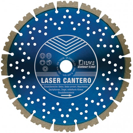 DIEWE LASER CANTERO Diamantscheibe