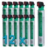 12 x Gas Paslode Impulse Senco Makita Hitachi Powers Bostitch