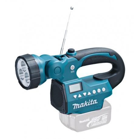 Makita BMR050 Akku Radiolampe LED  14 V und 18,0 V