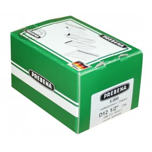 Prebena Heftklammern Type D 12 mm D12CNK 75000 Stück BEA Haubold